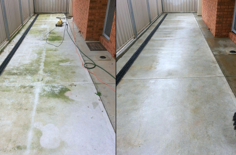 hot water pressure washing business