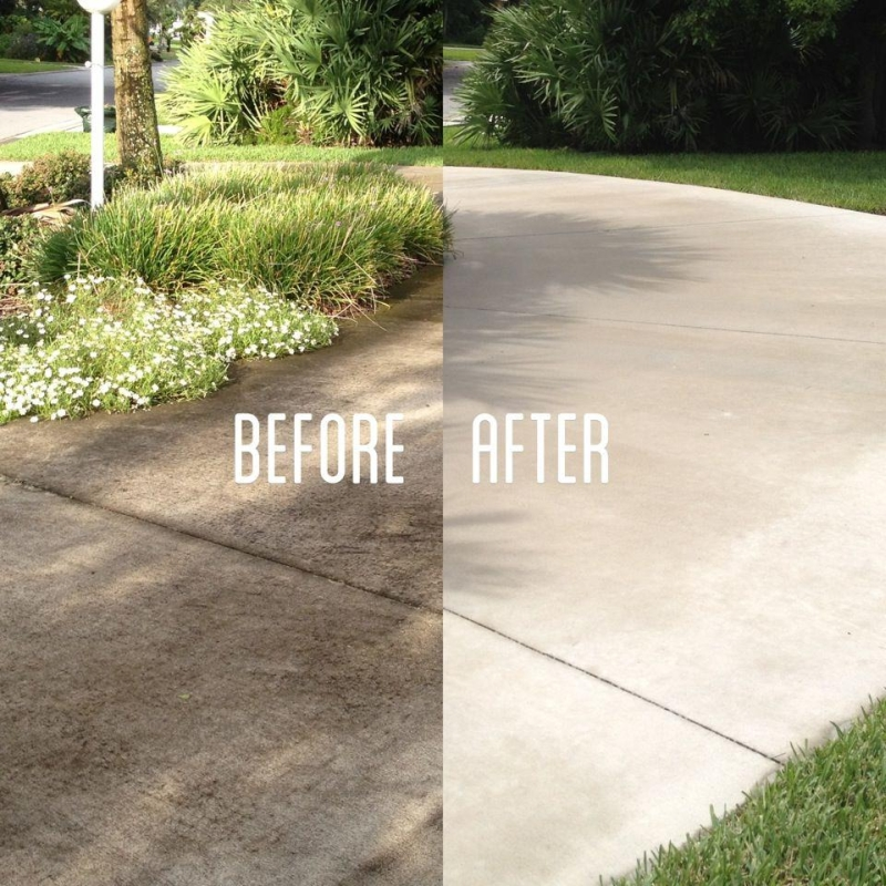 best time of year to pressure wash driveway