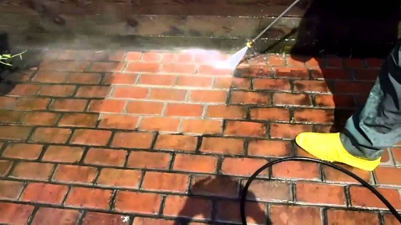concrete pressure washing services
