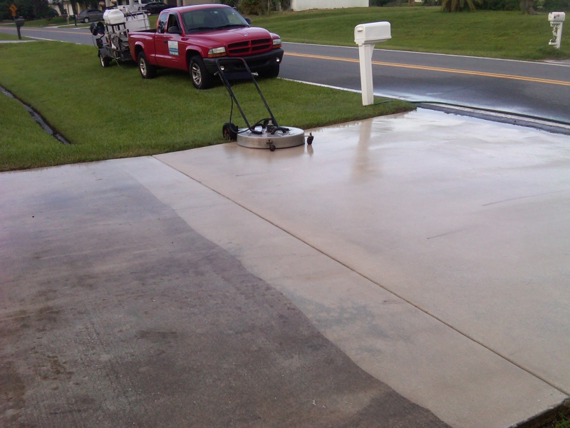 mobile pressure washing service