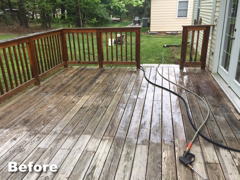 pressure wash deck cost