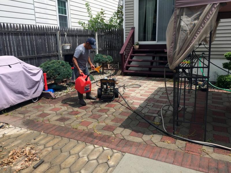 pressure washing driveway prices