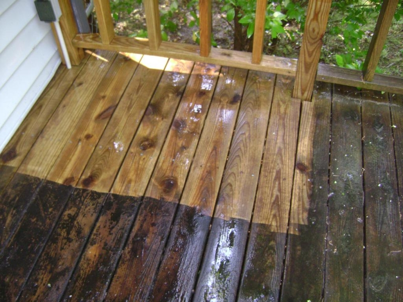How Long After Pressure Washing To Stain Deck In Del Cerro